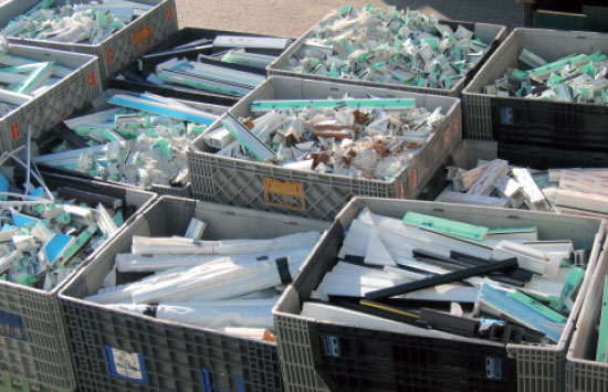 Recycling Windows - A&B Glass Group