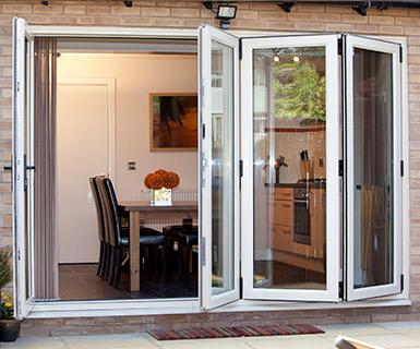 Bi-fold Doors by the A&B Glass Group