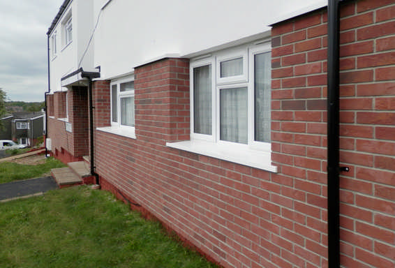 Asset Fineline, Broadland, Solid Wall upgrades and Windows replacements