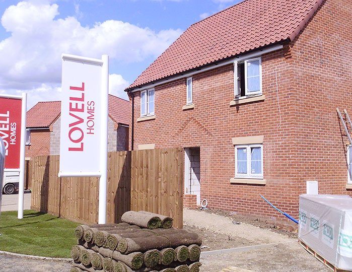 Lovell Homes with Asset Fineline