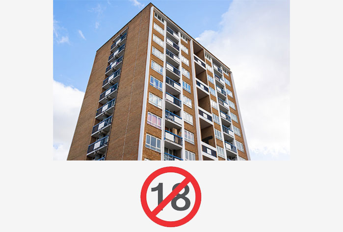Self-Certification Limit on Buildings 18 Meters High or Less