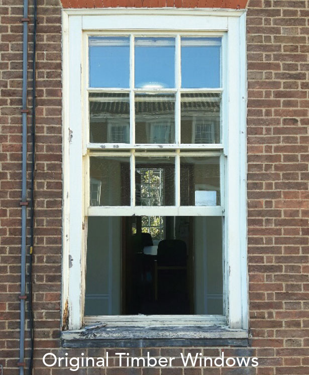 Original Timber Windows