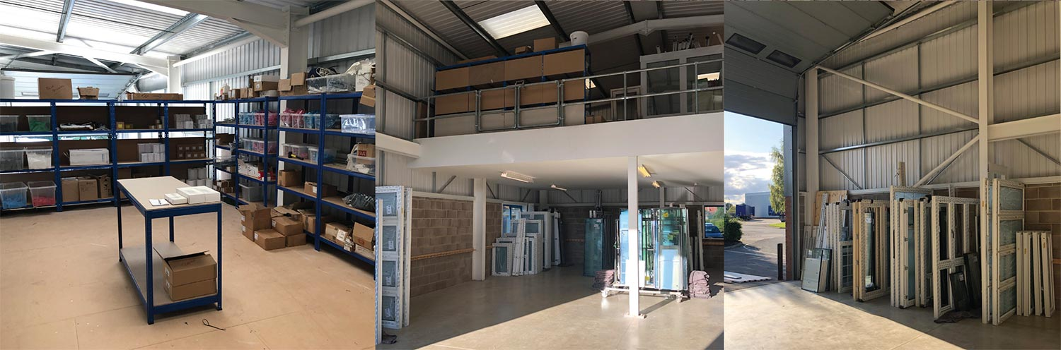 A&B Glass - Head Office and Depots - New Build Installations